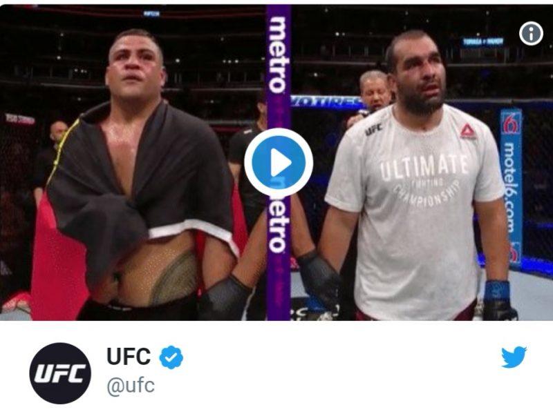 Багата с втора победа в UFC