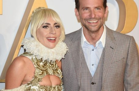 27 September 2018.  A Star Is Born – UK Film Premiere held at Vue West End (Leicester Square), 3 Cranbourn Street, London.  Here:  Lady Gaga and Bradley Cooper  Credit: Justin Goff/GoffPhotos.com   Ref: KGC-03