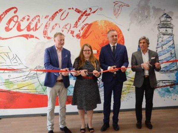 Официално откриха новия финансов офис на Coca-Cola във Варна
