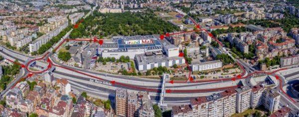 Нови удобни подходи към Grand Mall от основните пътни артерии във Варна