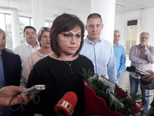 Корнелия Нинова пристига във Варна с цялото Изпълнително бюро