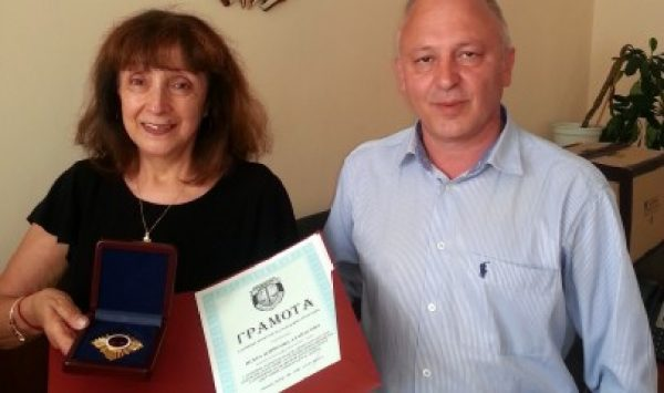 Варненски прокурор получи почетен знак за отлично изпълнение на служебните задължения