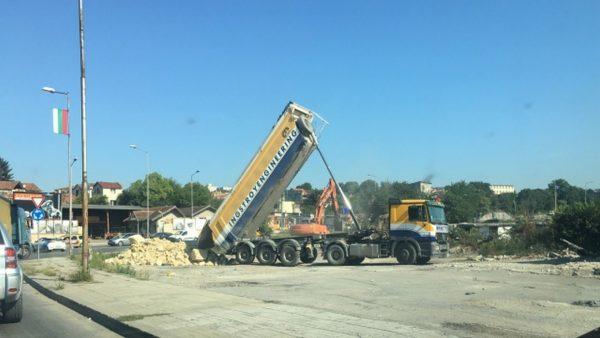 Започна изграждането на новото кръгово кръстовище във Варна