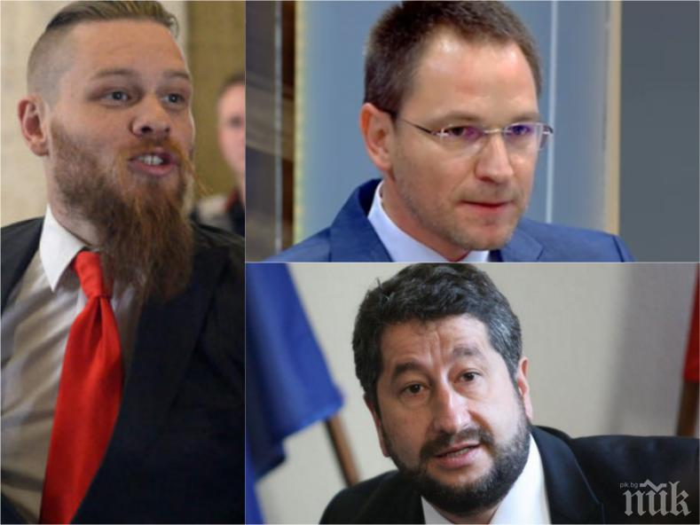 Христо Иванов, Лозан Панов и Калин Калпакчиев – удрната група за съд за поръчки