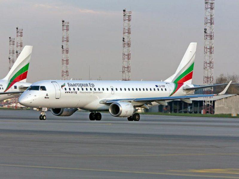 Bulgaria Air пусна самолетни билети на ниски цени по всичките си директни полети