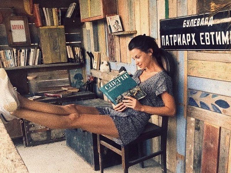 Какво чете Диляна Попова