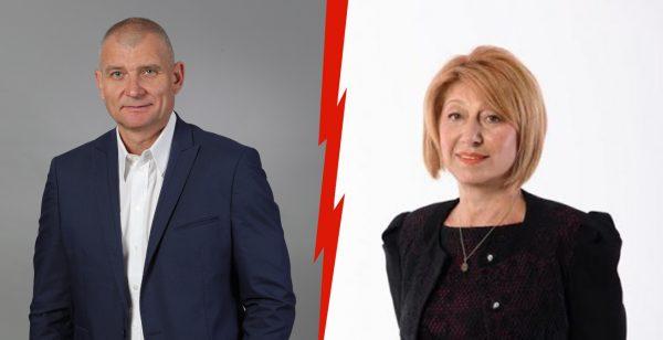 Цветан Атанасов със скандални нападки към кандидата от БСП проф. Анелия Клисарова