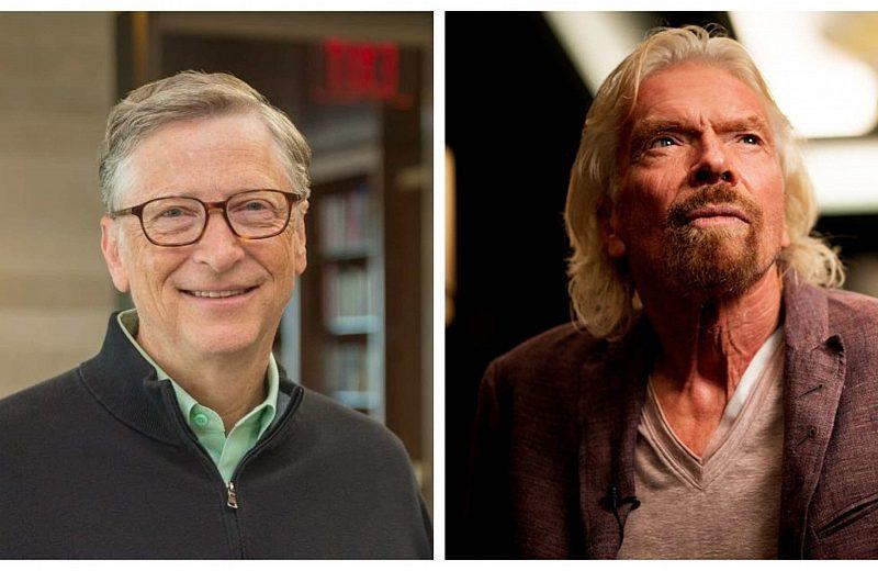 Гейтс и Брансън с обща идея за борбата с климатичните промени