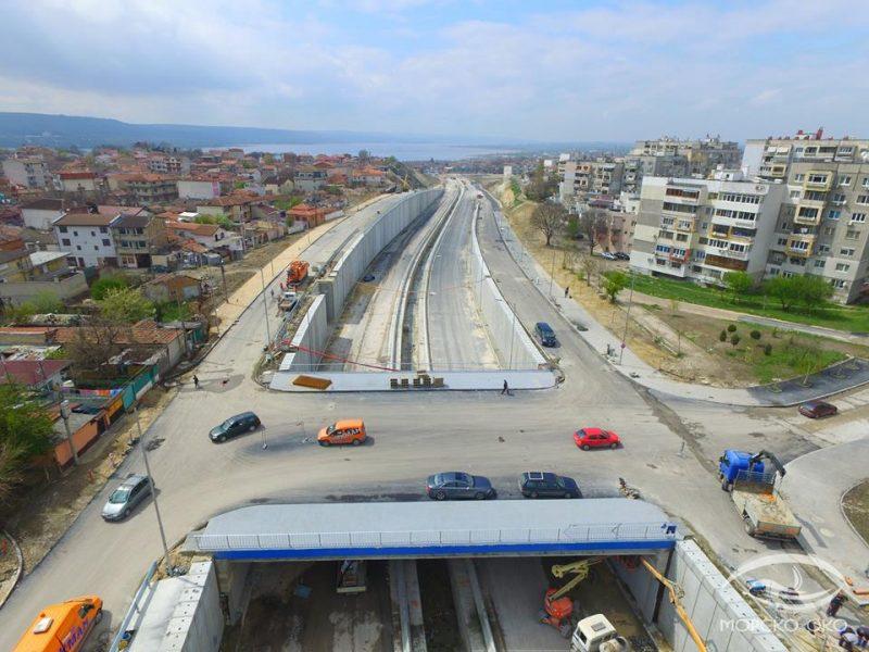 Три нови мостови съоръжения ще облекчат трафика във Варна