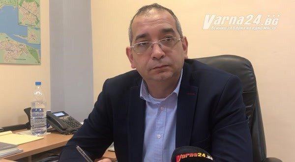 """Младен Иванов: Очакваме два пъти повече приходи след въвеждането на """"синята зона"""" в широкия център на Варна"""