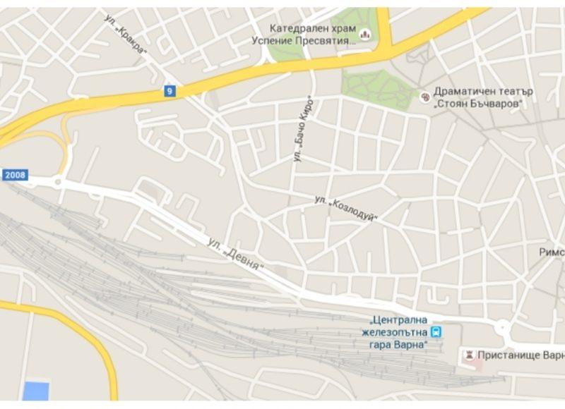 Естакада над ул. Девня и жп линиите ще извежда тежкия трафик директно към пристанище Варна