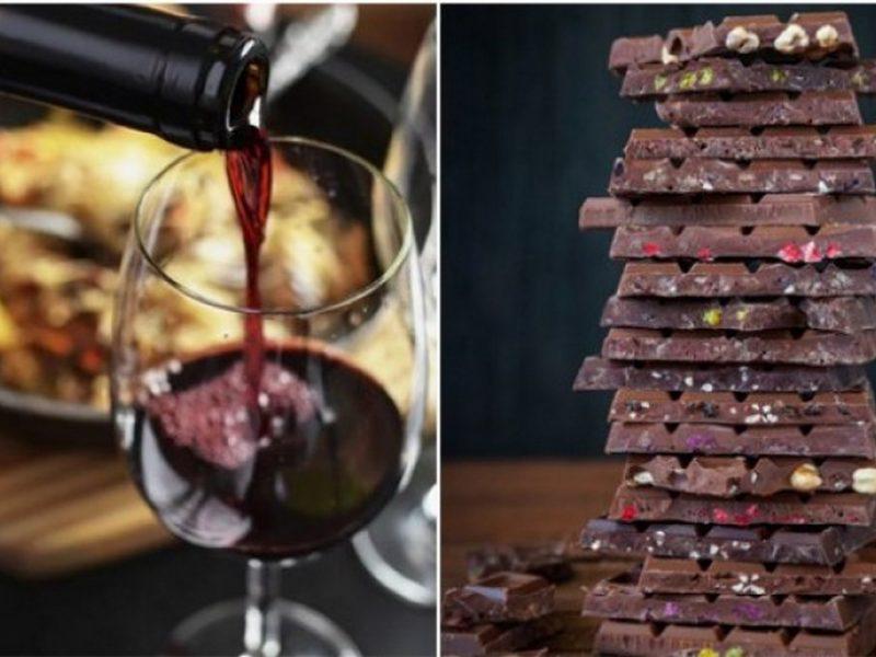Червеното вино и шоколадът помагат срещу вирусите