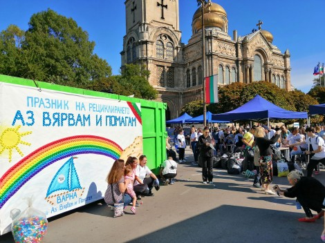 Готвят нова кампания за събиране на капачки във Варна в помощ на новородени