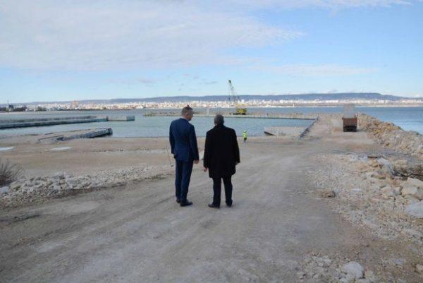 """Кметът инспектира работата по важните инфраструктурни обекти в """"Аспарухово"""""""
