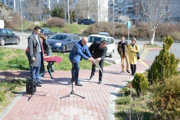 Откриха три обекта по европейски проект за естетизация на градската среда във Варна