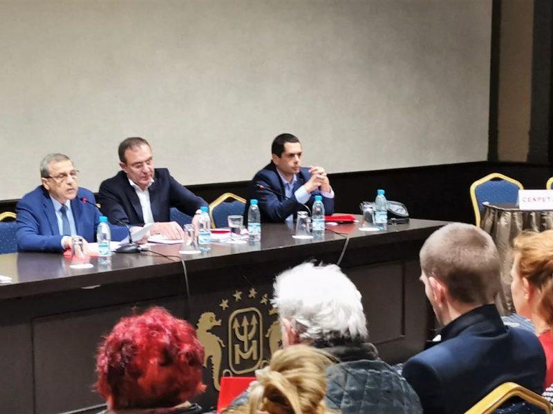 Борислав Гуцанов беше избран за нов мандат за председател на БСП-Варна