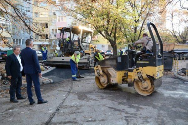 Продължава работата по инфраструктурните обекти във Варна