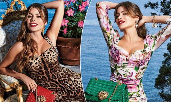 Екзотичната София Вергара е новото лице на Dolce & Gabbana
