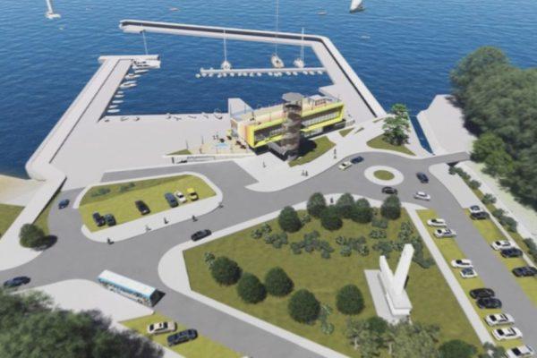 """Стартира изграждането на многофункционалната сграда на рибарското пристанище в местността """"Карантината"""""""