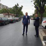 """Иван Портних: Приключва поредният етап от ремонта на улица """"Царевец"""" (СНИМКИ)"""