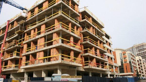 Над 11% спад в строителството