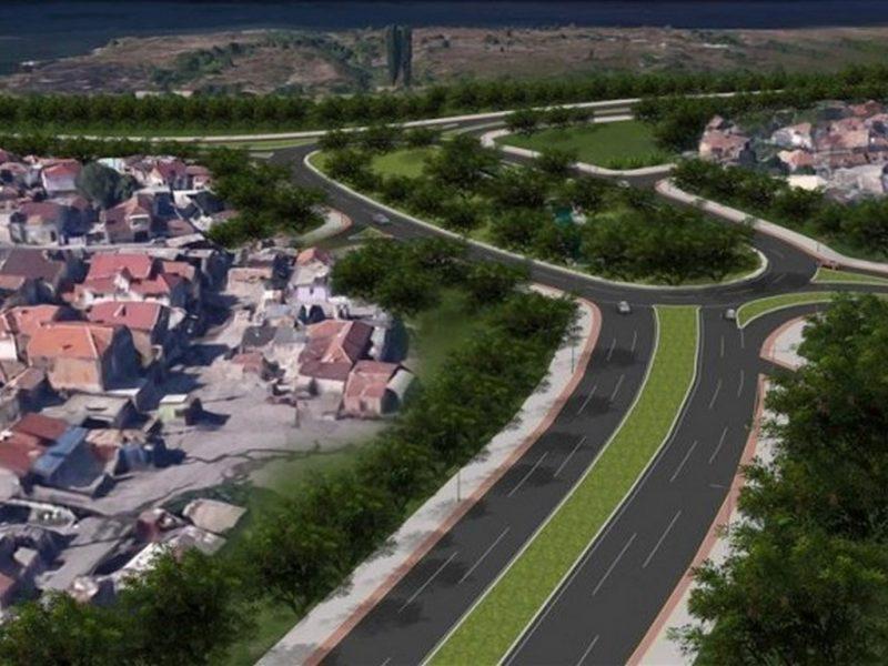 """Клип """"Полет над новото кръгово"""" показва готовото кръстовище (ВИДЕО)"""