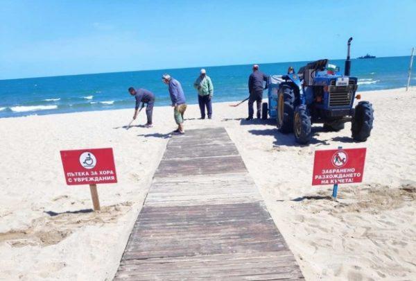 Хората в инвалидни колички вече няма да гледат морето от Крайбрежната алея
