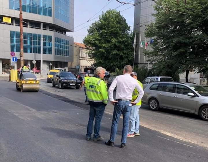 Иван Портних: Завършва ремонтът на още две варненски улици