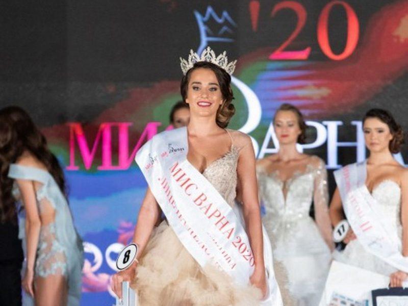 """19-годишната Цветелина Маркова е новата""""Мис Варна"""" (снимки)"""