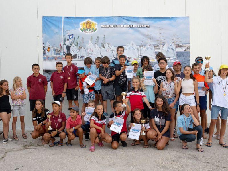 81 деца се докоснаха до магията на ветроходството в регата Одесос