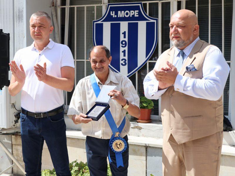 Ивайло Маринов получи най-високото държавно отличие в областта на спорта