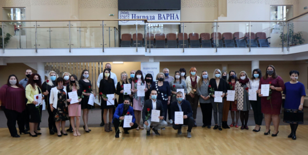 Наградиха 18 млади учители във Варна