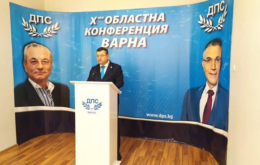 ДПС готви национална конференция. ДПС-Варна издигна Мустафа Карадайъ за председател, преизбра Сали Табаков за лидер