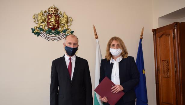 Съдия Магдалена Давидова встъпи в длъжност като председател на Районен съд – Варна