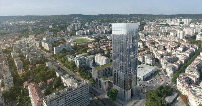 """Първият небостъргач във Варна ще е на мястото на бензиностанция """"Бенита"""" до Окръжна болница"""