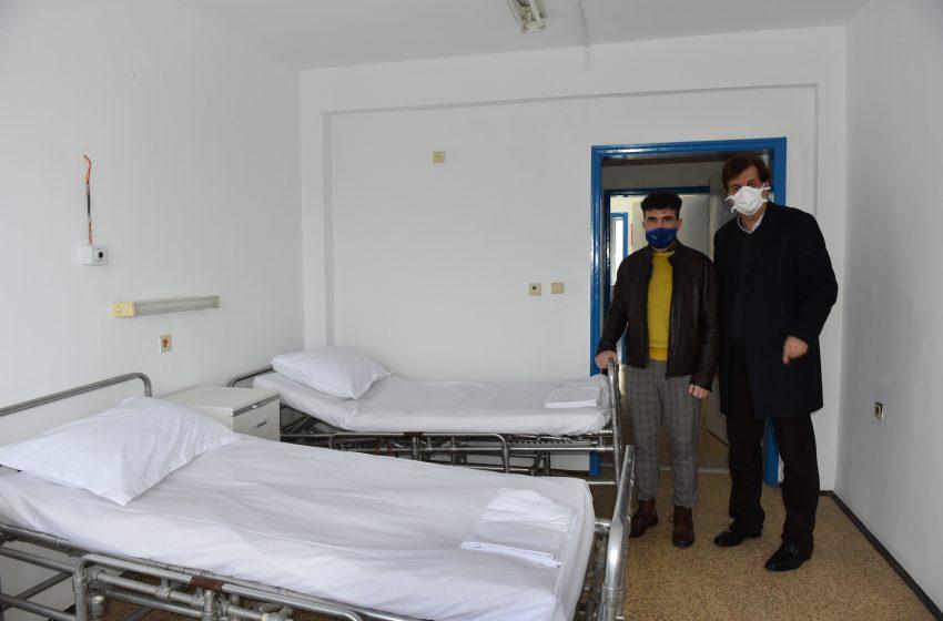 Болницата в Девня отвори КОВИД отделение с подкрепата на Фонда за солидарност на Група Солвей