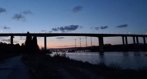 Възстановиха осветлението на Аспарухов мост