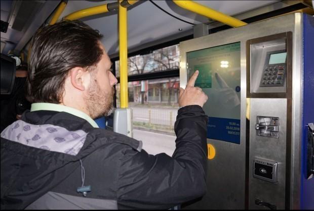 От 1-ви януари купуваме билетче за автобуса във Варна само от автомат