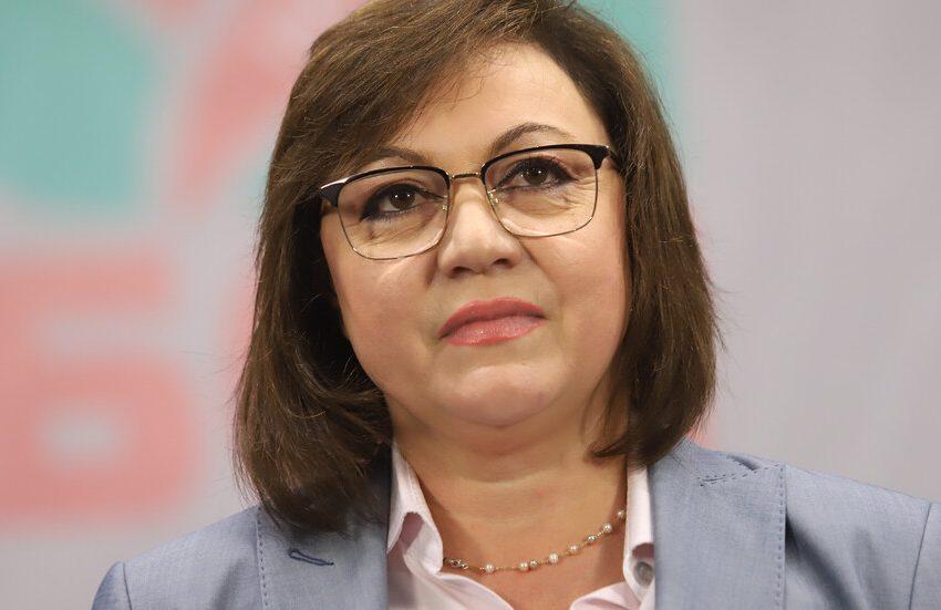 Корнелия Нинова във Варна: За коалиции ще мислим след изборите