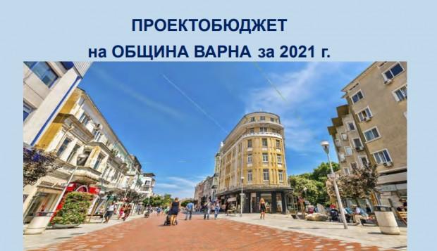 Обсъждат публично проектобюджета на Варна за 2021 г. онлайн утре