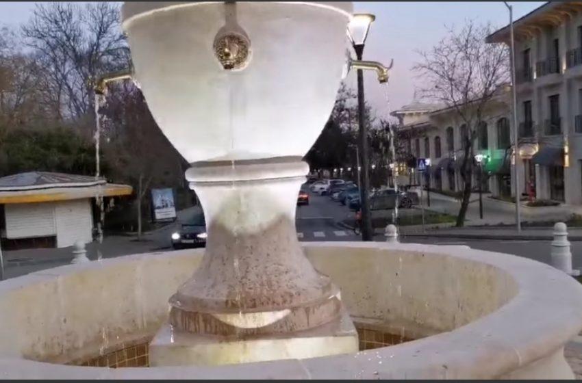 Изградиха ново кръгово кръстовище с красива чешма в Дружба