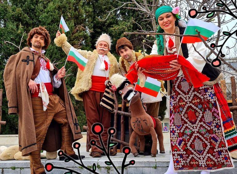 """Празничен спектакъл """"Аз съм българче"""" представя Кукленият театър на 3 март"""