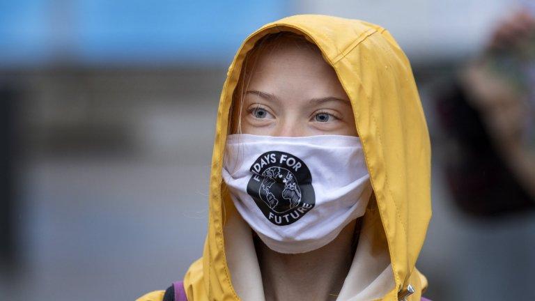 За Грета е крайно време климатът да стане по-важна тема от коронавируса