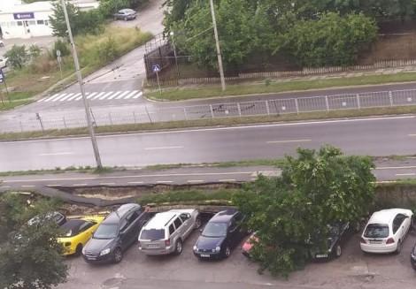 Пропадна част от велоалея във Варна