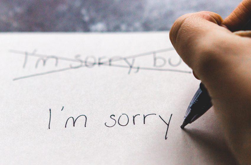 Направих грешка? Ето четирите най-добри професионални стратегии за извинение