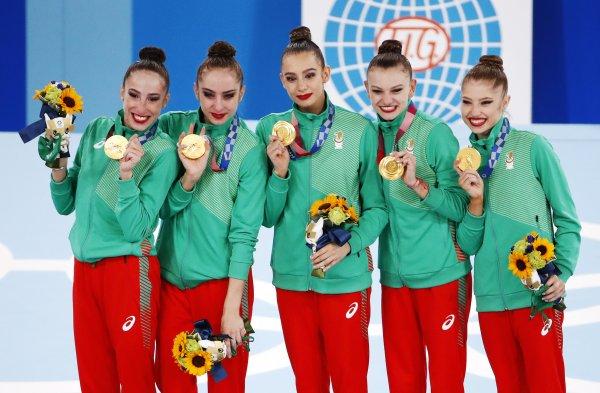 """""""Златните момичета"""" донесоха трето олимпийско злато за България в Токио (ГАЛЕРИЯ)"""