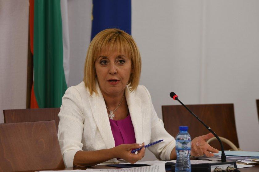 Мая Манолова: Гневна съм! Полицаите с насилието да бъдат извикани в парламента